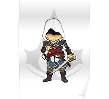 Assassin's Creed 4: Black Flag Edward Kenway Chibi Poster