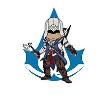 Connor Kenway Chibi: Assassin's Creed 3 Photographic Print