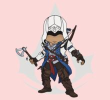 Assassin's Creed 3 Chibi Connor Kenway Kids Clothes