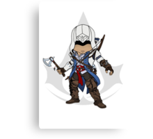Assassin's Creed 3 Chibi Connor Kenway Canvas Print