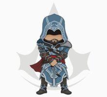 Assassin's Creed Revelations Chibi Ezio Auditore Kids Clothes