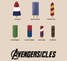 AVENGERSICLES by AshGraphics