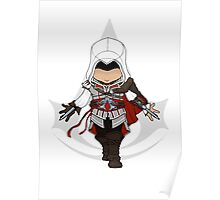 Assassins Creed 2 Chibi Ezio Auditore da Firenze Poster