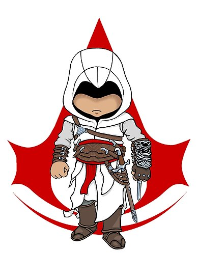 Altaïr Ibn-La'Ahad: Assassins Creed Chibi by SushiKittehs