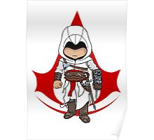 Altaïr Ibn-La'Ahad: Assassins Creed Chibi Poster