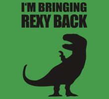 Bringing Rexy Back by jezkemp
