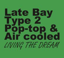 Late Bay Pop Type 2 Pop Top Black Kids Clothes