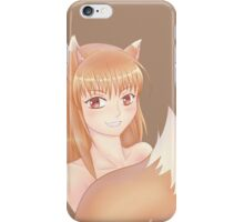 A Spicy Wolf iPhone Case/Skin