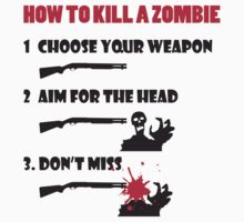 How to kill a zombie by nektarinchen