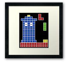 "Nostalgic ""Whos' Game"" design Framed Print"
