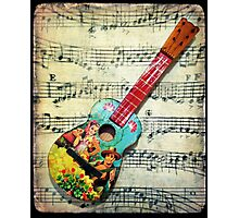 Toy Guitar Photographic Print