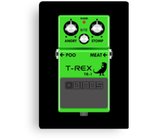 T-Rex Distortion Pedal Canvas Print