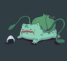 Heavy Breathing Bulbasaur by swamitsunami