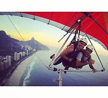 Flying over Rio by omhafez