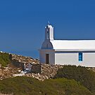 Chapel by the sea (I) by Konstantinos Arvanitopoulos