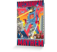 Mechanical Mayhem Greeting Card