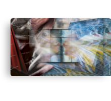 I Don't Like Where You Are Coming From!  Canvas Print