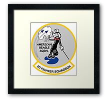 2nd Fighter Squadron - American Beagle Squadron Framed Print