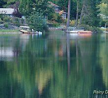 Reflecting on Horseshoe Lake by Rainydayphotos