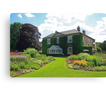 Bressingham Hall and Gardens Canvas Print