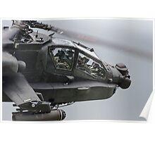 Boeing AH-64 Apache Gunship Poster