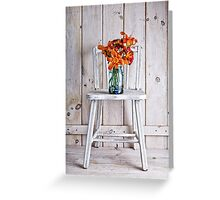 Fresh Day Lilly Flowers  Greeting Card