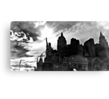 New York, New York, Las Vegas Canvas Print