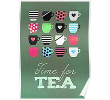 Time for tea Poster