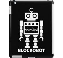 BLOCKOBOT (white) iPad Case/Skin