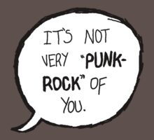 Its Not Very Punk Rock Of You by Besperr