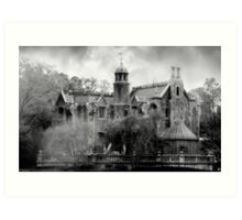Haunted Mansion Part 2 Art Print