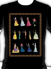 Origami - The Princesses T-Shirt