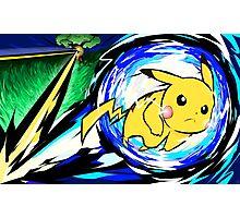 Pikachu   Volt Tackle Photographic Print