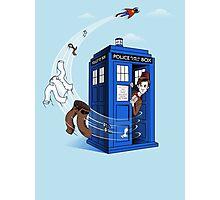 Superman's TARDIS (Iphonecase) Photographic Print