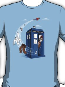 Superman's TARDIS (Iphonecase) T-Shirt
