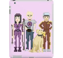Hawkeye - Clint, Kate, Pizza Dog and Bro Thug iPad Case/Skin