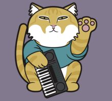 Lucky Cat - Keyboard Kitty by Dann Matthews