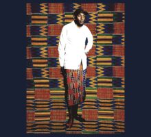 Mos Def in Kente Cloth by solglo