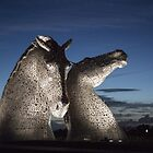The Kelpies - Falkirk by Paul Campbell  Photography
