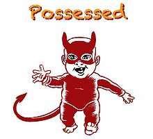 Possessed T-Shirt by Steve Lafler