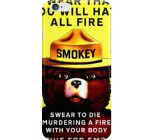 Smokey Pledge iPhone Case/Skin