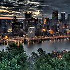 Pittsburgh Summer Sunrise by Shadrags