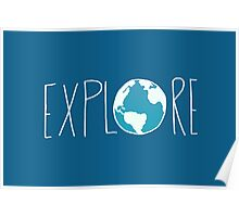 Explore the Globe II Poster