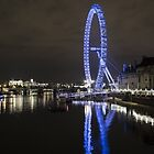 London Eye2 - England by Paul Campbell  Photography