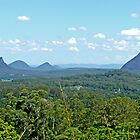 Glasshouse Mountains by Margaret  Hyde