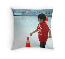 inline skate Throw Pillow