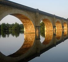 """""""Reflected  tranquility""""  -  Mauzac, France by Photography by Mathilde"""