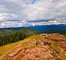 """Shrine Ridge Trail"" Vail, Colorado- USA by AlexandraZloto"