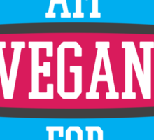 VEGAN FOR LIFE Sticker