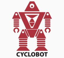 CYCLOBOT (red) by jodalry